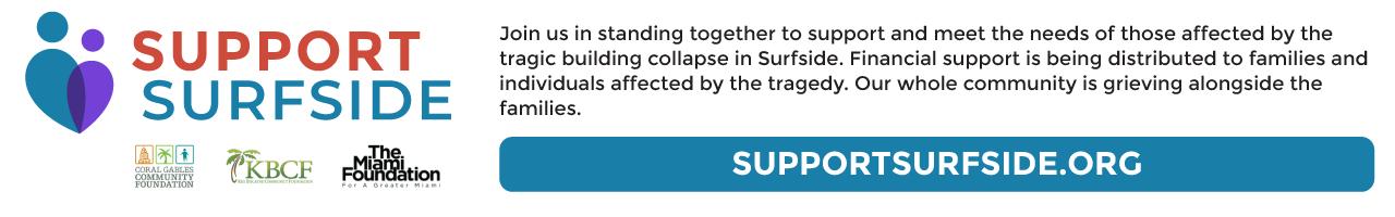 Support Surfside banner